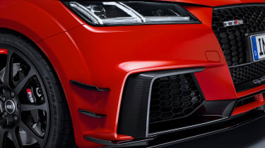 Audi TT RS and Audi R8 performance parts - Audi TT RS front