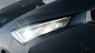 Cupra Leon 300 - headlight