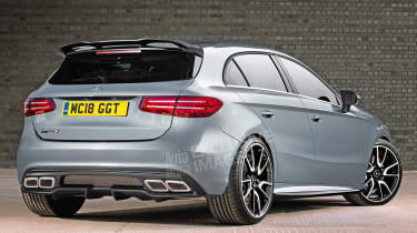 Mercedes-AMG A 45 - exclusive image rear