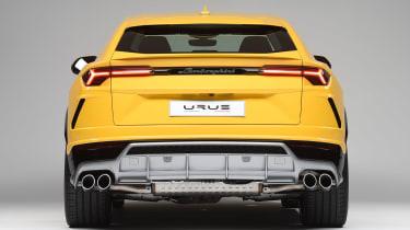 Lamborghini Urus - studio full rear