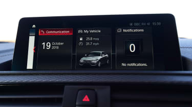 bmw m2 competition infotainment