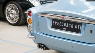 David Brown Automotive Speedback rear