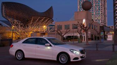 Mercedes E-Class front static
