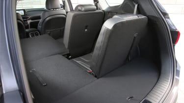 New Hyundai Santa Fe - boot detail