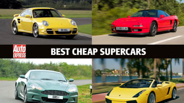 Best cheap supercars