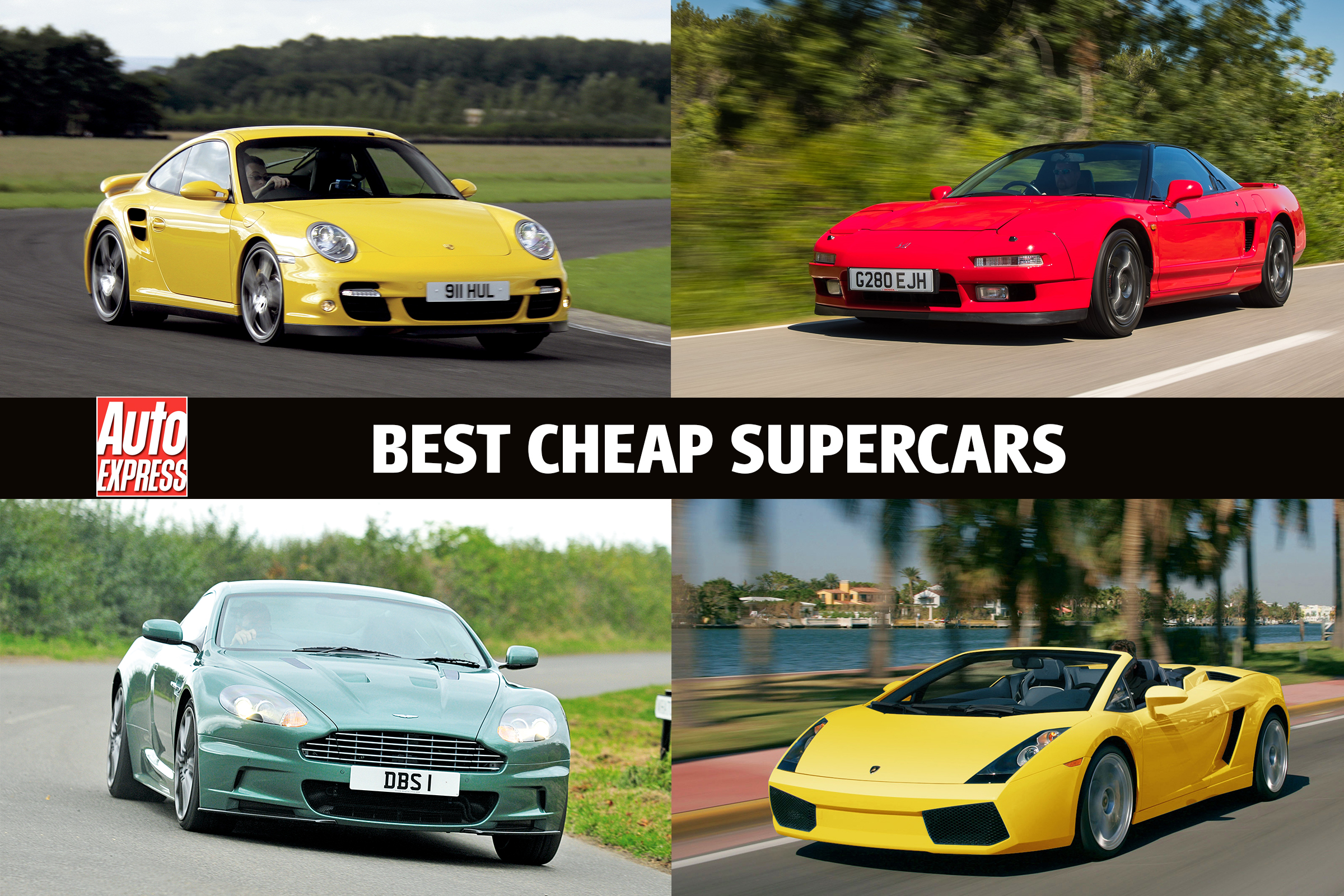 Best Cheap Supercars Auto Express