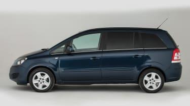 Used Vauxhall Zafira - side