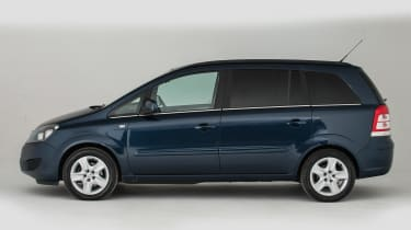 Used Vauxhall Zafira - side