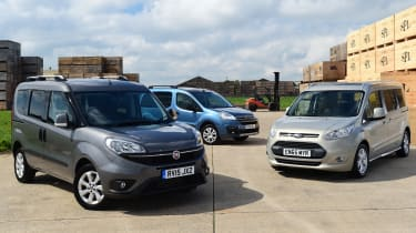 Fiat Doblo vs Citroen Berlingo vs Ford Tourneo Connect - header