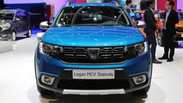 Dacia Logan MCV Stepway Geneva - full front