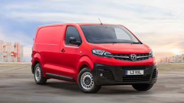 Vauxhall Vivaro - front
