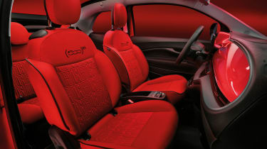 Fiat 500(RED) - seat combination 1