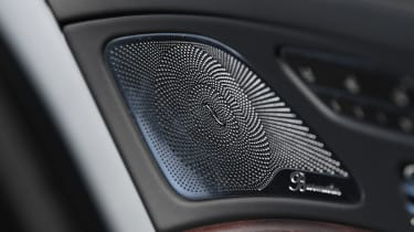 Mercedes S-Class - speaker