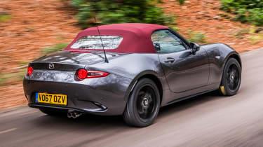 New Mazda MX-5 Z-Sport 2018 review - rear