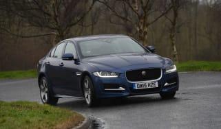 Jaguar XE Long term test - front cornering
