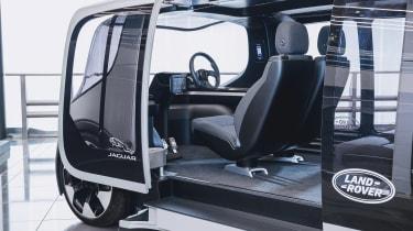Jaguar Land Rover Project Vector - interior