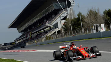 Formula 1 2017 - Ferrari Catalunya