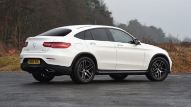 Mercedes GLC Coupe - rear