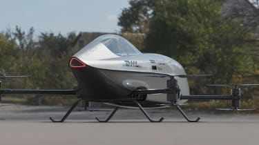 Airspeeder Mk3 - rear static