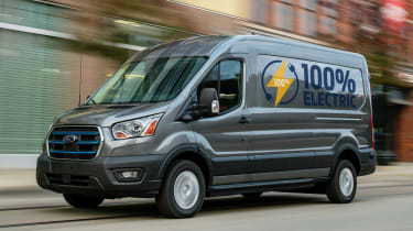 Ford E-Transit - front