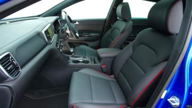 Kia Sportage - front seats