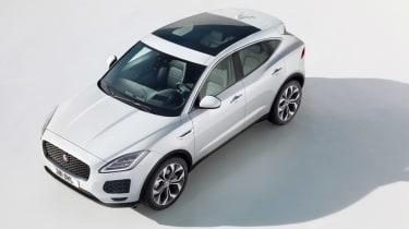 Jaguar E-Pace - overhead