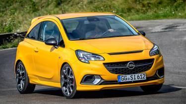 Vauxhall Corsa GSi - front