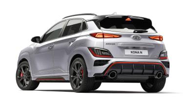 Hyundai Kona N - rear studio