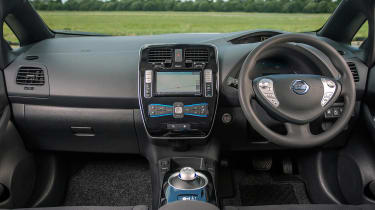 Used Nissan Leaf - dash