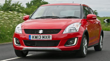 Suzuki Swift front action