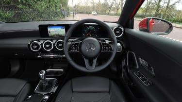 Mercedes A 180 SE - interior