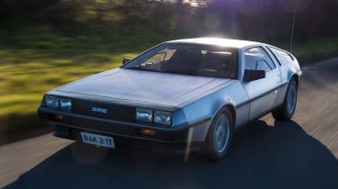 DMC DeLorean - front tracking