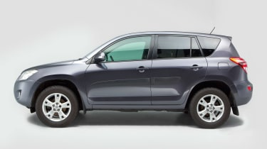 Used Toyota RAV4 - side