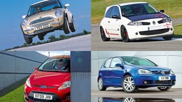 The best cars of the 2000s - header