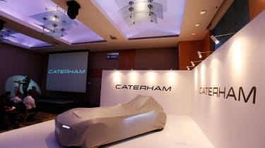 Caterham launch cover