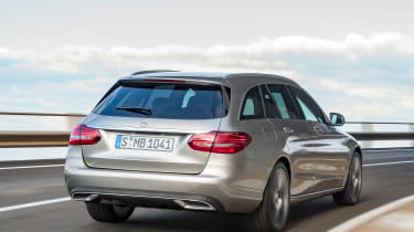 Mercedes C-Class Estate - rear tracking