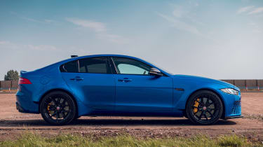 Jaguar XE Project 8 - side shot