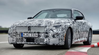 BMW 2 Series Coupe prototype - front action