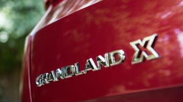 Vauxhall Grandland X - badge