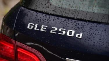 Mercedes GLE 2015 badge