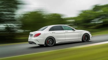 Mercedes-AMG C63 S - rear tracking