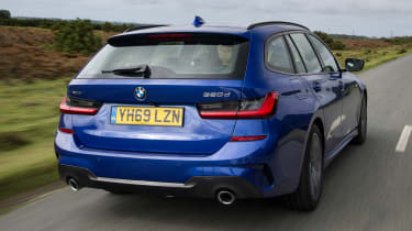 BMW 320d xDrive Touring - rear