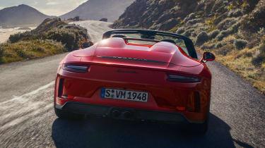 Porsche 911 Speedster - rear