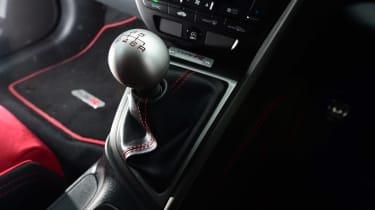 Honda Civic Type R - centre console