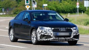 Audi A4 facelift - front