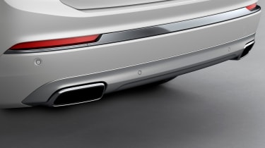 Volvo XC90 facelift - exhausts