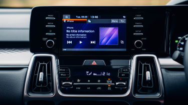 Kia Sorento PHEV 2021 - screen