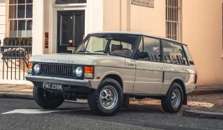 Range Rover Classic V8 - front