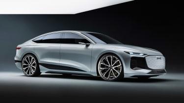 Audi A6 e-tron concept - front studio