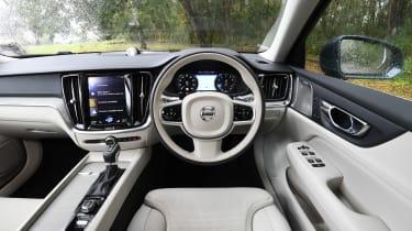 Volvo S60 saloon - interior